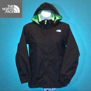 North Face Boys Jacket Shell Black Small